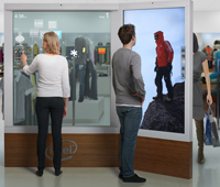 A Photo of a Digital Sign using Intel Embedded Technology