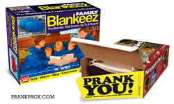 Photo of the Family Blankeez Prank Pack